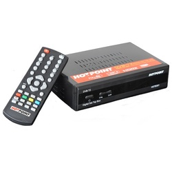 Hotpoint DVB-T2 Digital Set Top Box/Decoder HSTB301 - USB, HDMI