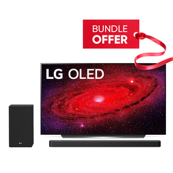 "LG OLED65CXPVA 65"" OLED TV & SN8Y Soundbar 3.1.2CH Bundle"