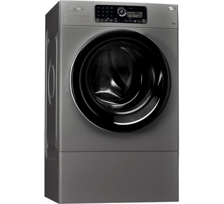 Whirlpool washing machine fscr12433 front load 12kg silver for Motor for whirlpool washer
