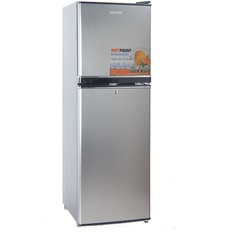 Von Hotpoint HRD-162SS Double Door Fridge 138L - Silver
