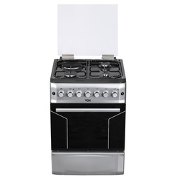 Von F6S31E2/ VAC6F031US 3 Gas + 1 Electric Cooker - Silver
