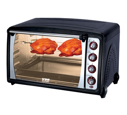 VON HO2370B/VAOC703K Toaster Oven 70L, 2280W - Convection