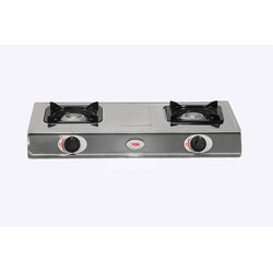 Von HPTT-2012S/VAC7J201X Table Top 2 Burner - Stainless Steel