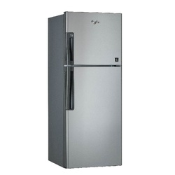 Whirlpool WTM 322 R SL Double Door Fridge, 262L, Non Frost, LVS, LED - Silver