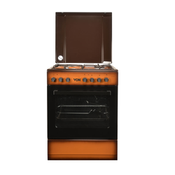 Von Hotpoint 7312NED/VAC6S031UD 3 Gas + 1 Electric Cooker - TDF Dark