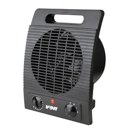 Von VSHK20FK Fan Heater - Black