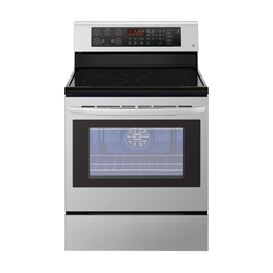 LG LRE3193ST 5 Electric Cooker - Stainless Steel