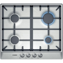 Bosch PCP615B90E Built In Hob 4 Gas 60CM - Stainless Steel