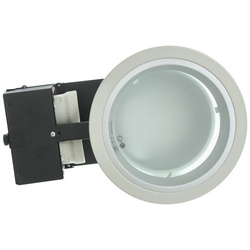Philip Downlight FBH121 C 2xMAX 18W-E27 220-240V FG WH 03001