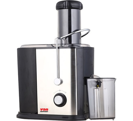 Von VSJF08PNX Juice Extractor, 800W - Stainless Steel