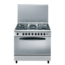 Ariston C011 SG1/CN 11SG1 (X)/EX  Professional Cooker 4 + 2 Wide Gas - Oven & Grill - Stainless Steel