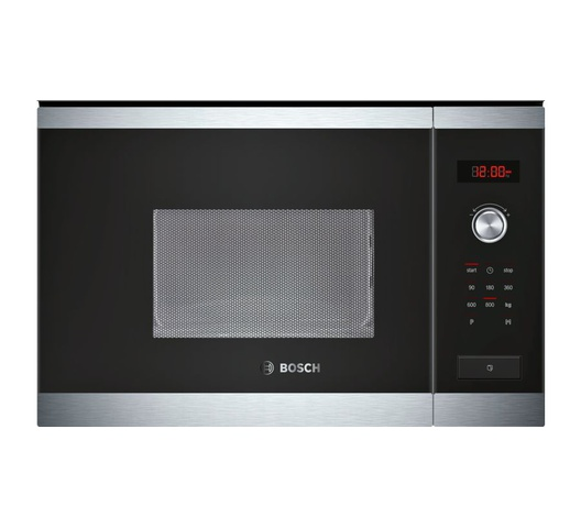 Bosch Built In Microwave Oven HMT75M654B/BFL524MS0B Grill 20L