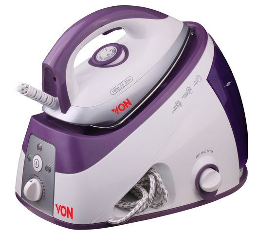 Von VSSS22PCV Steam Station, 2200W - Violet