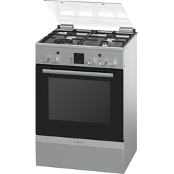 Bosch HGA24W255M 4 Gas Cooker - Stainless Steel