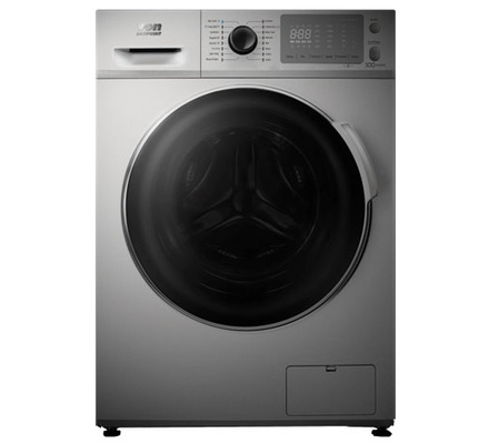 VON VAW-84FNMS Washer & Dryer Front Load 8/6 KG - Silver