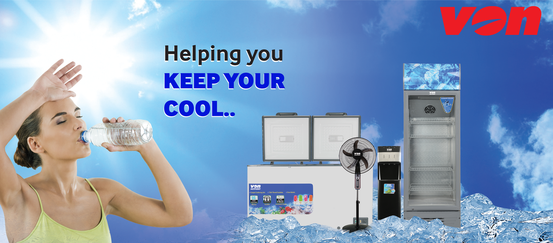 Keep cool this summer with Von