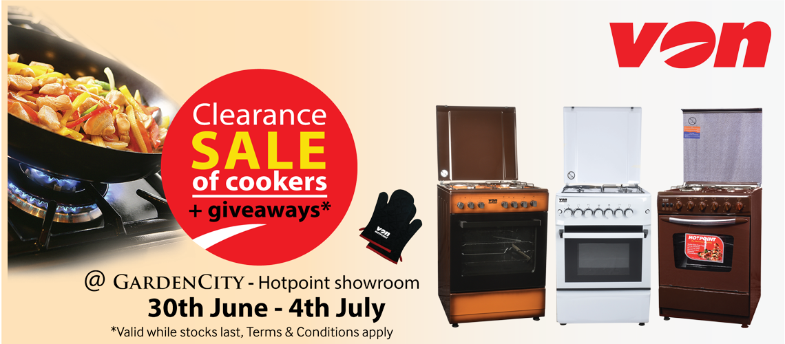 Cookers clearance sale