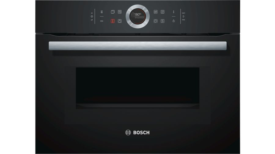 Bosch Cmg633bb1b Built In Microwave Oven 45l 14 Function