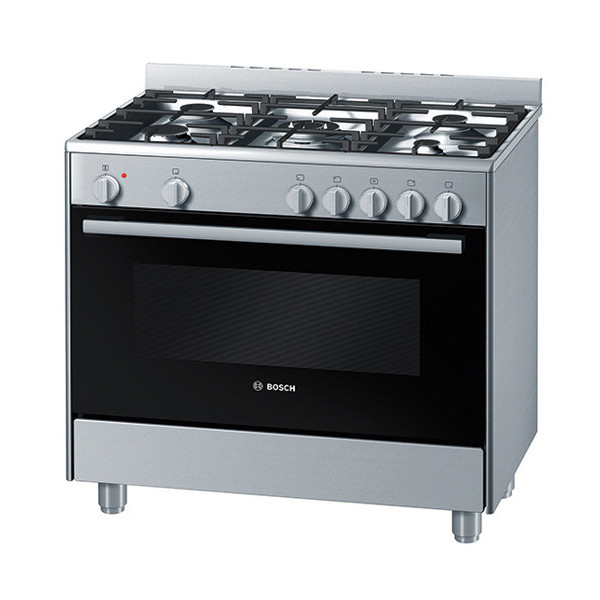 Bosch Cooker Hsb734355z 5gas 90cm Electric Oven Silver