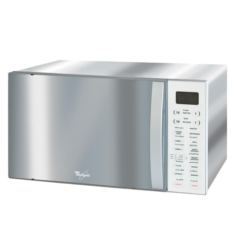 Whirlpool Microwave Mwo 638 Ix Grill 38l Silver