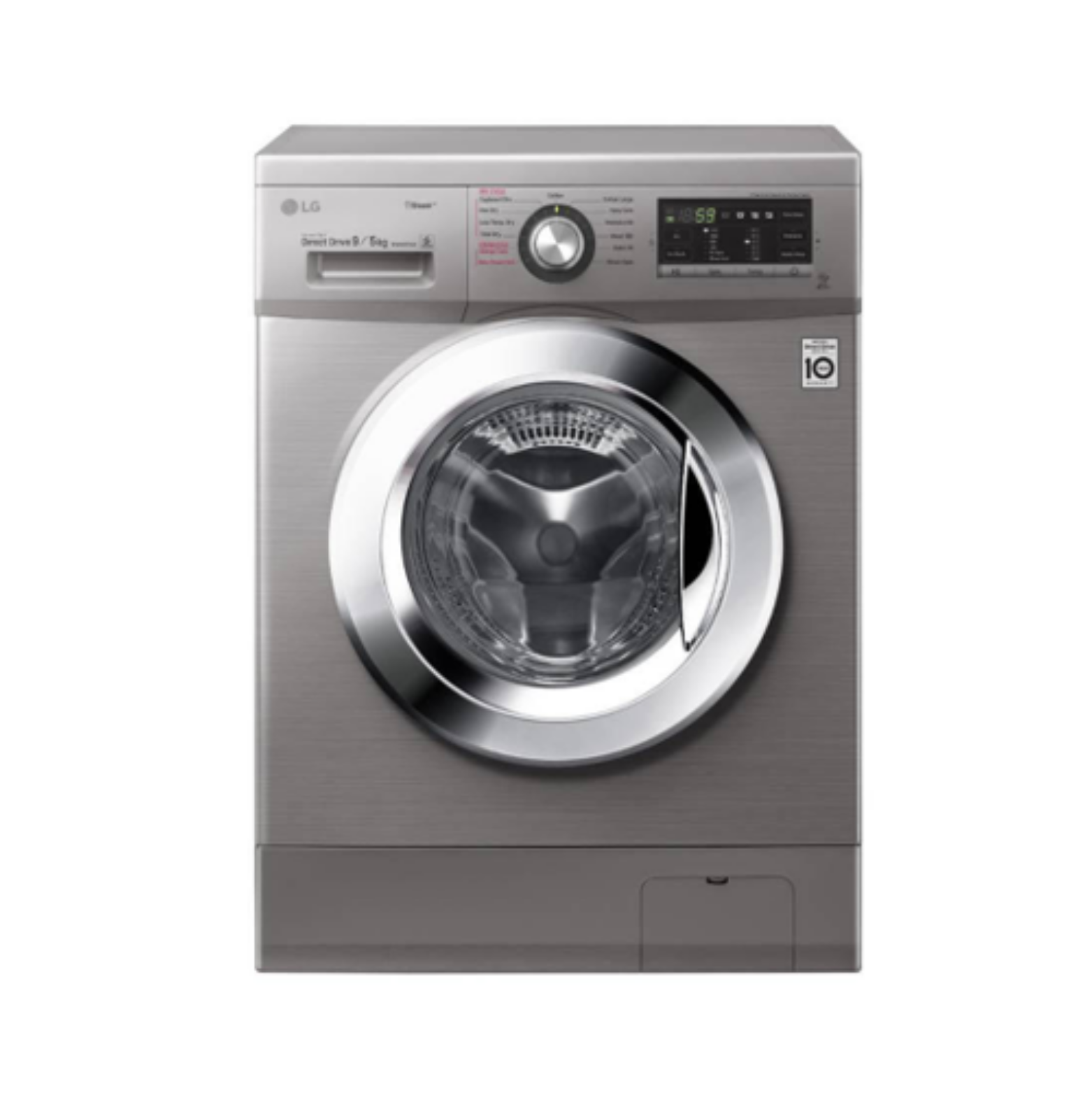 LG Washing Machine FH4G6VDGG6 in Kenya 9KG Front Load Washer