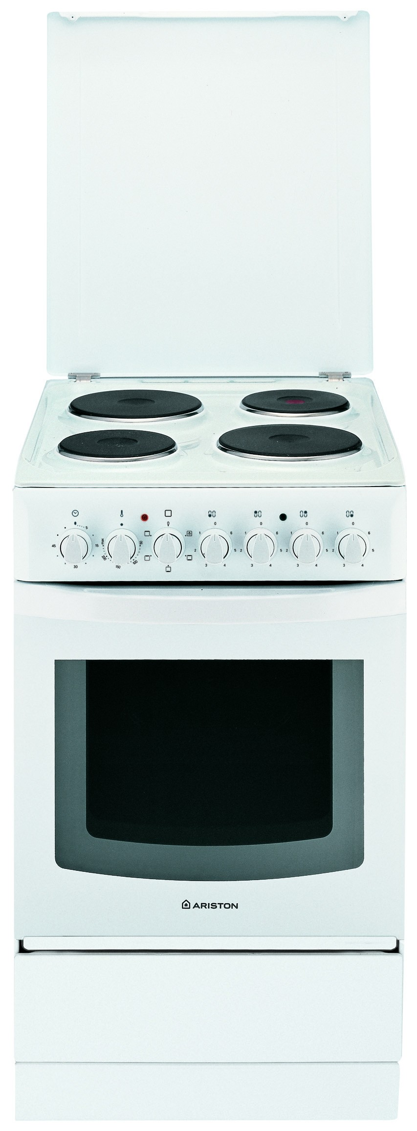 Uncategorized Ariston Kitchen Appliances ariston c30n1 4 plate electric cooker white hotpoint co ke white
