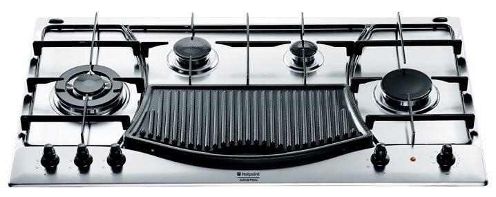 ariston ph 941 mstb gh built in 4 gas griddle hob. Black Bedroom Furniture Sets. Home Design Ideas