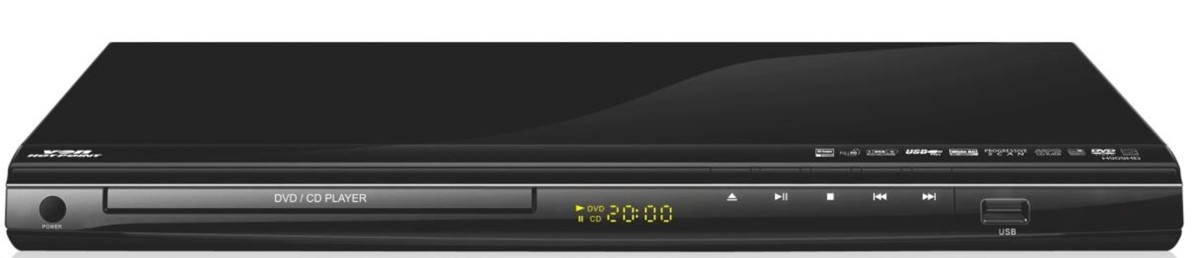 Von Hotpoint H909HD/VEV909DAA DVD Player With HDMI Output + Cable ...