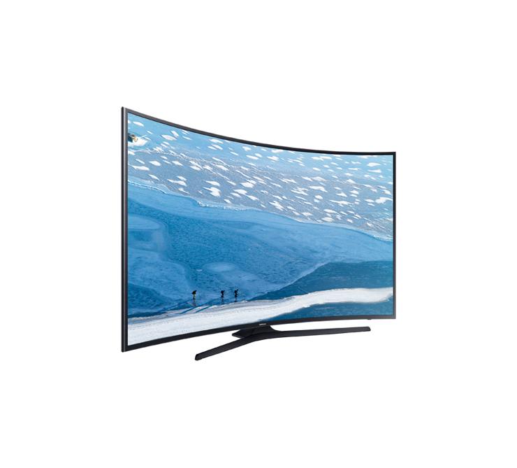 samsung ua65ku7350 65 led tv ultra hd curved smart. Black Bedroom Furniture Sets. Home Design Ideas