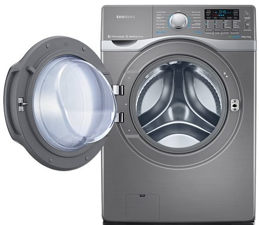 Samsung Washer And Dryer.. Samsung Ecobubble Wd90j7400gw 9kg Spin Washer Dryer In White ...
