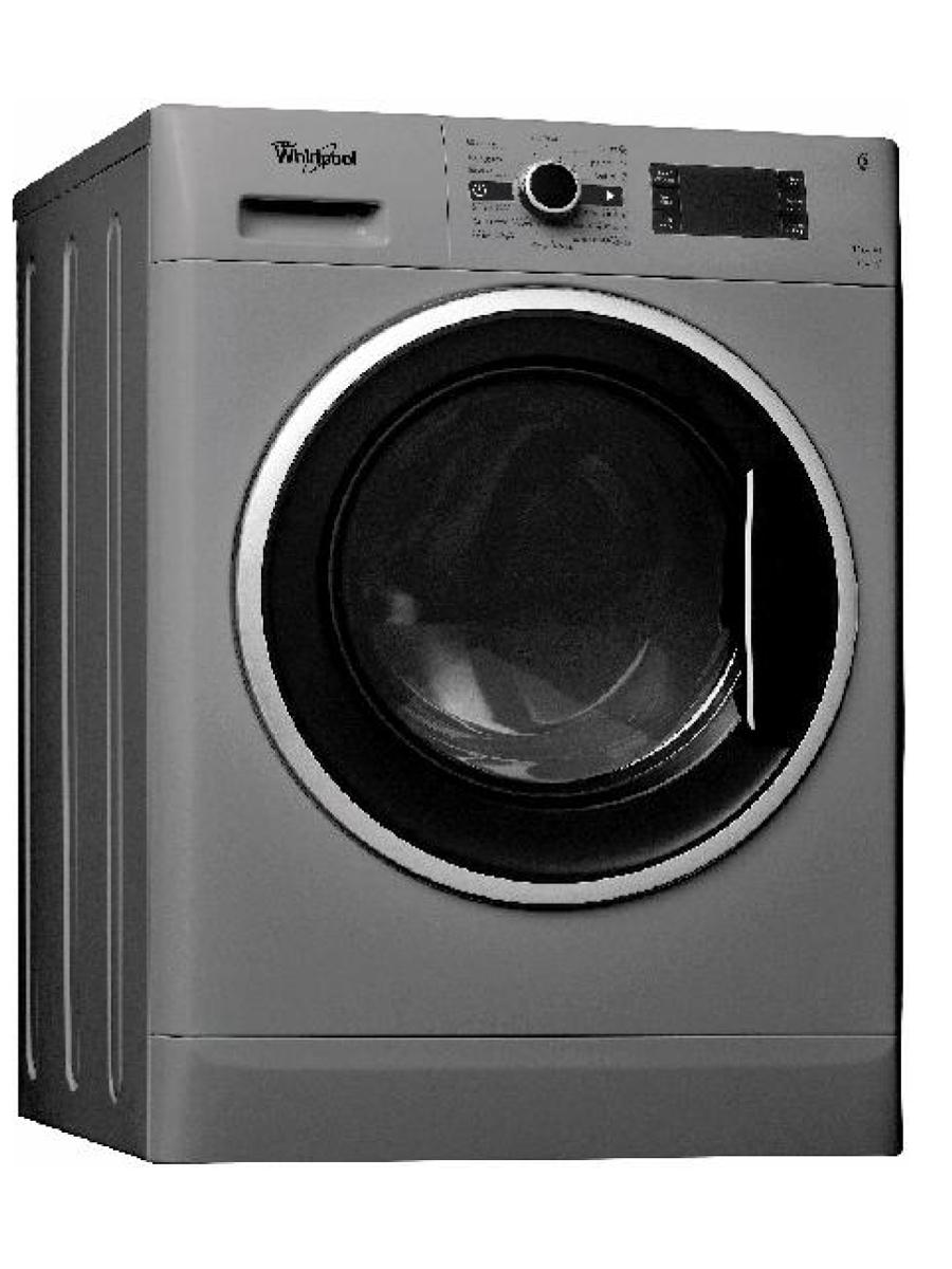 Whirlpool washer dryer wwdc 11716 s front load 117kg silver free whirlpool washer dryer wwdc 11716 s front load 117kg silver free 2kg ariel detergent 1l downy softener fandeluxe Gallery